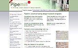 Front page - Pipemill: suite of piping design and analysis programs